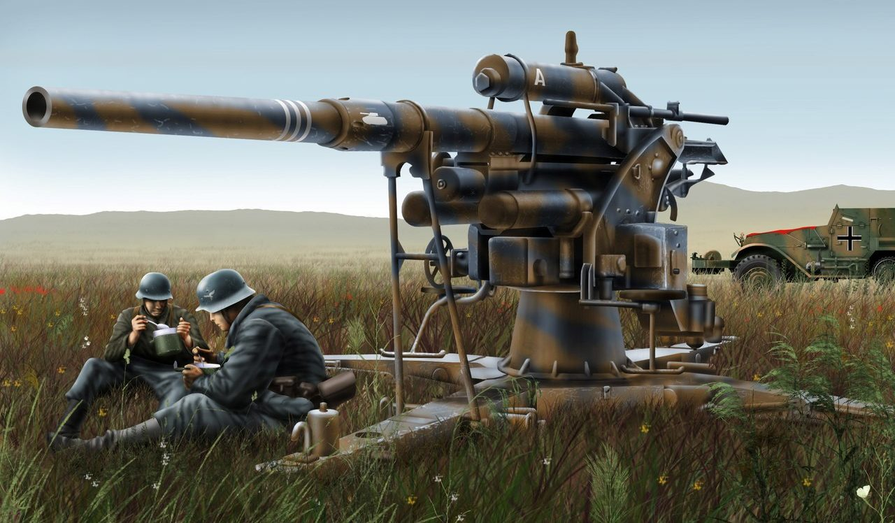 Бут Владимир. 88-мм орудие.