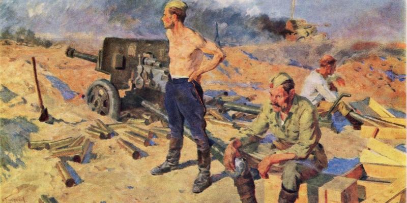 Глущенко Николай. Весна под Киевом.
