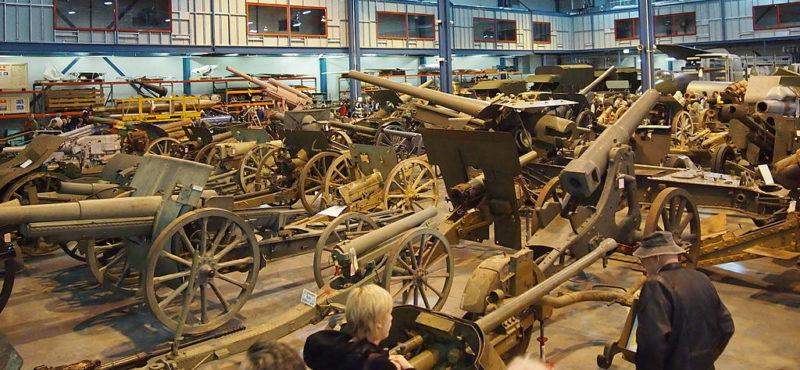 Зал артиллерии.