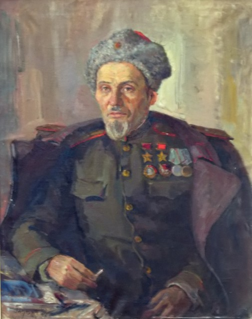 Глущенко Николай. Портрет Ковпака.