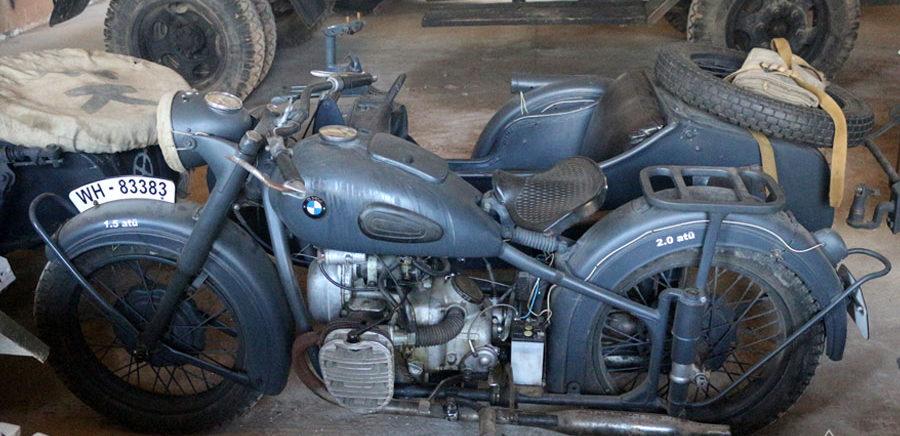 Немецкий мотоцикл.