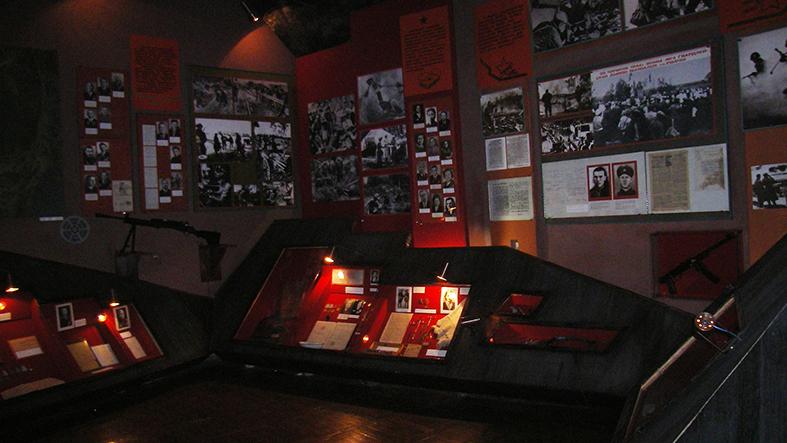Экспозиции музея.