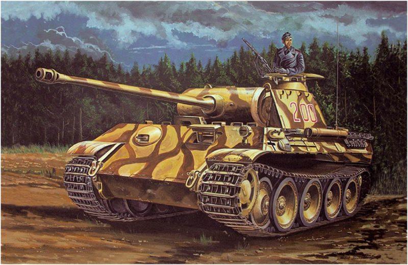 Kavvathias Kostas. Танк Panther Ausf. A.