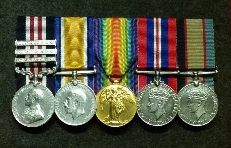 Экспозиция медалей.