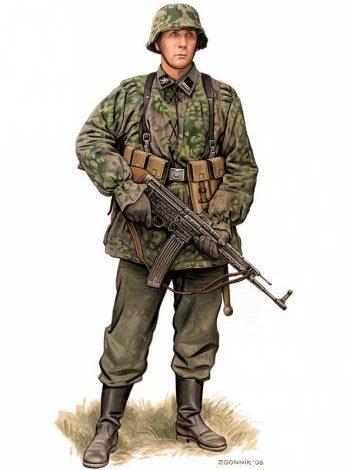 Згонник Дмитрий. Солдат дивизии СС Galicia.