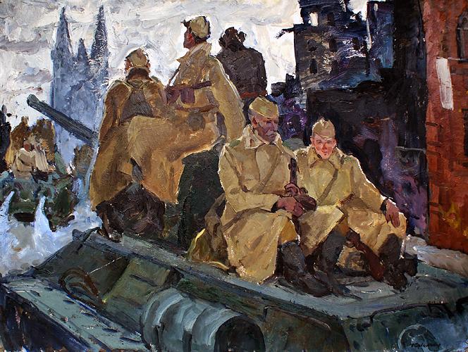 Сулименко Петр. На войне.