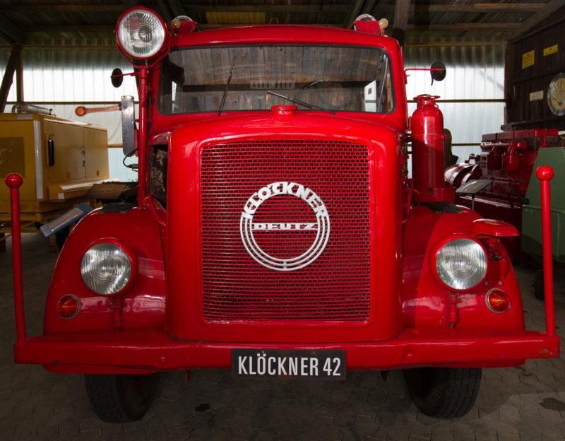 Пожарный автомобиль.