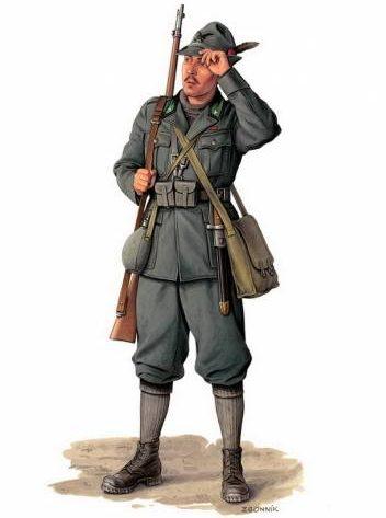 Згонник Дмитрий. Итальянские пехотинцы.