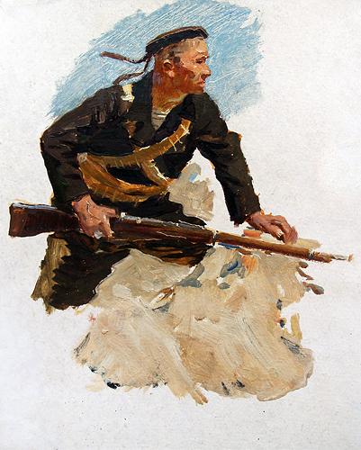 Сулименко Петр. Матрос.