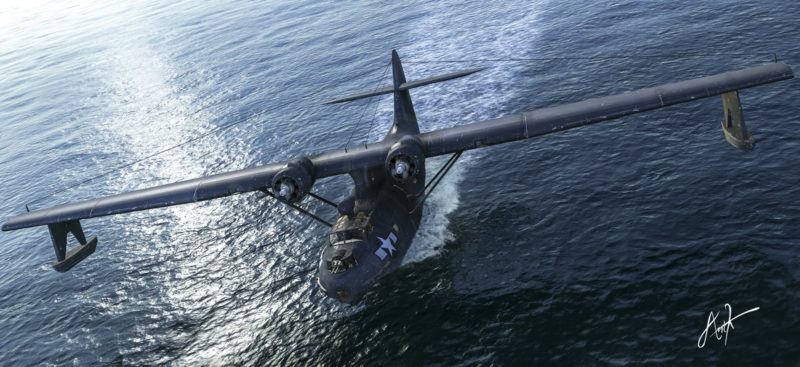 Karidis Antonis. Летающая лодка Guardian Angel.