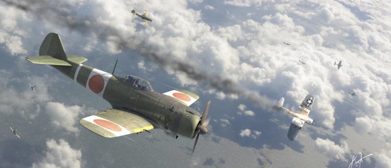Karidis Antonis. Истребитель Ki-84 Frank.