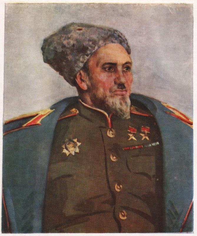 Шовкуненко Алексей. Портрет А.С. Ковпака.