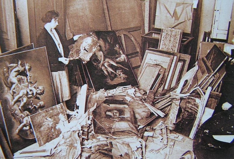 Эрмитаж. Сотни картин, уничтоженных крысами