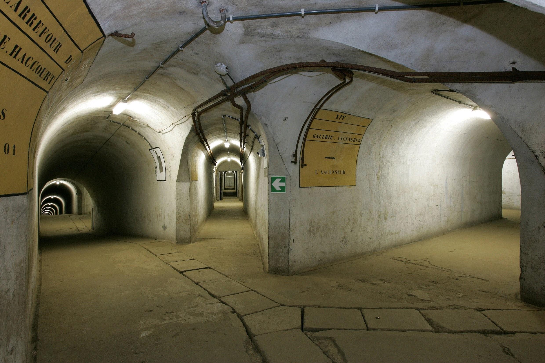 Галереи форта