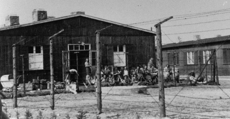Женский барак лагеря