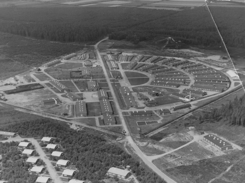 Лагеря Фаархуслейрен в 1949 году