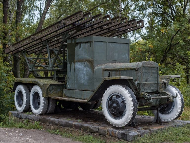 Легендарная «Катюша» БМ-13-16