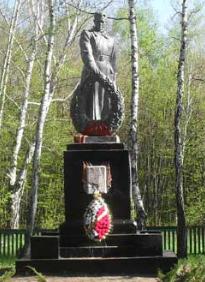 п. Придонецкое Изюмского р-на. Памятник установлен на братской могиле, в которой похоронено 150 советских воинов