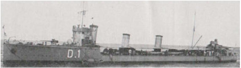 Эскадренный миноносец «Catamarca»