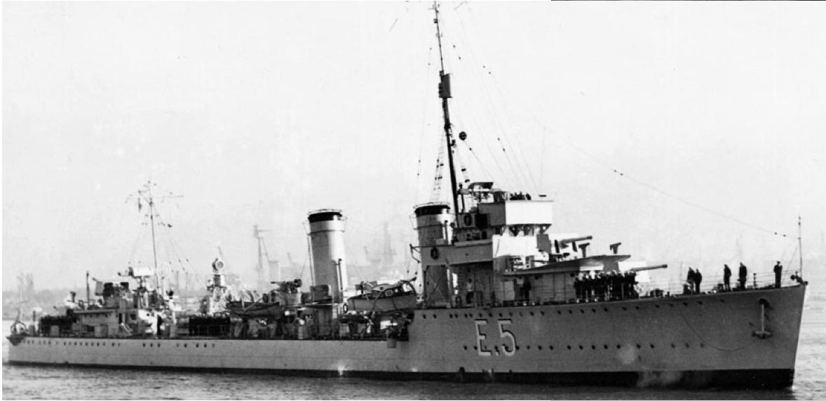 Эскадренный миноносец «Tucuman» (Е-5)