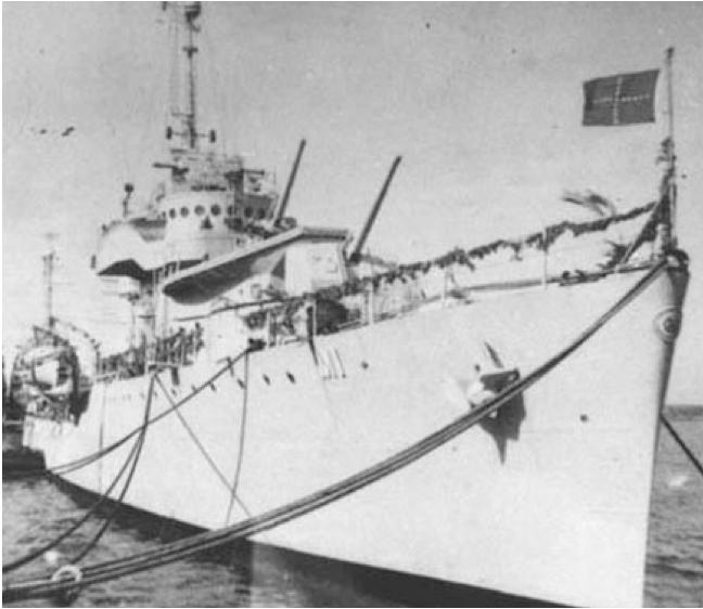 Эскадренный миноносец «Marcilio Dias»