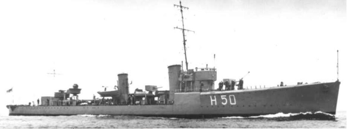 Эскадренный миноносец «Stronghold» (Н-50)