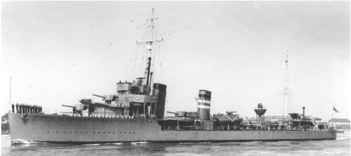 Лидер эскадренных миноносцев «Keppel» (D-84)