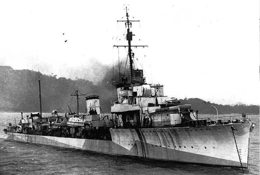 Лидер эскадренных миноносцев «Campbell» (D-60)