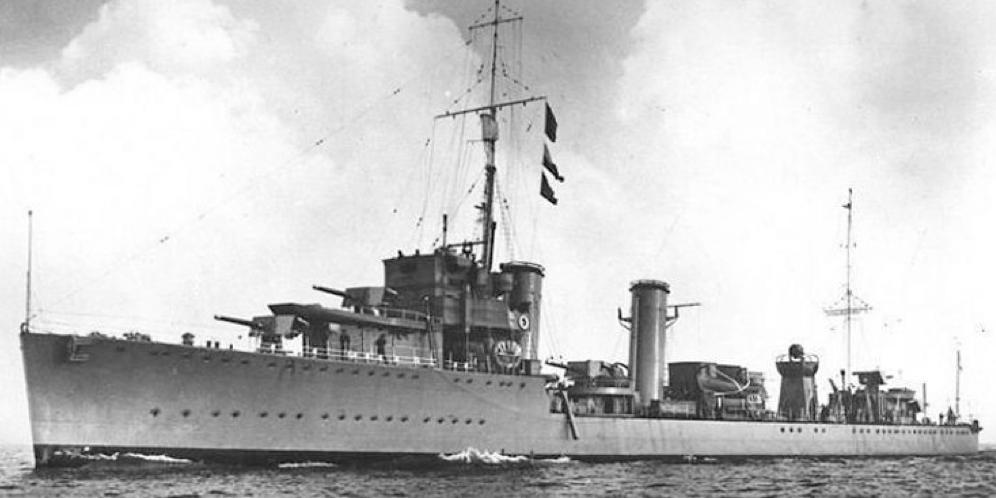 Лидер эскадренных миноносцев «Mackay» (D-70)