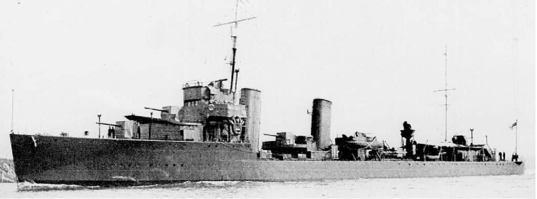 Лидер эскадренных миноносцев «Wallace» (L-64)