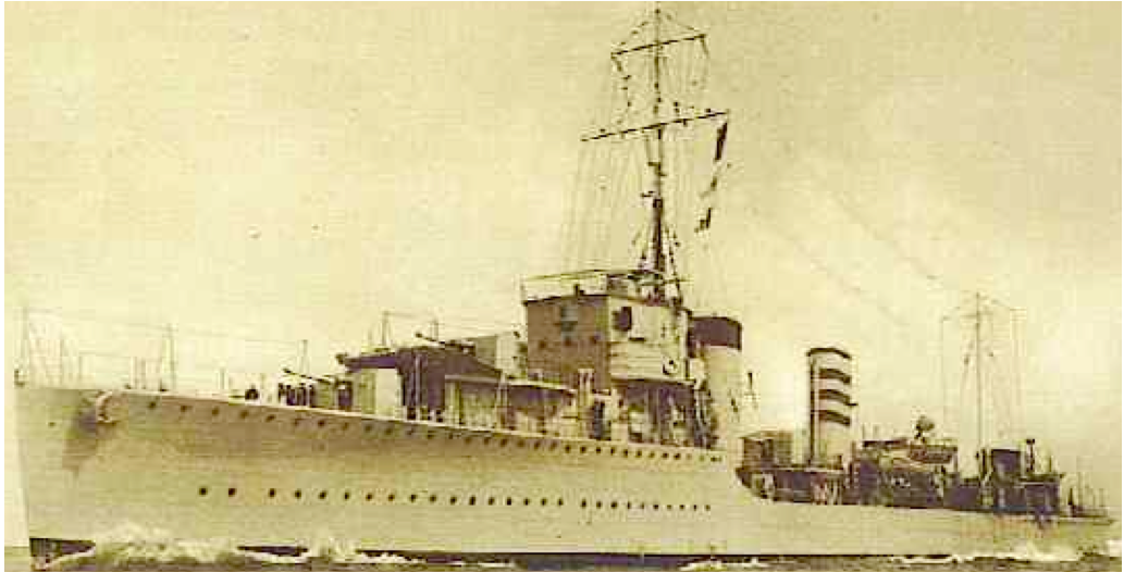 Лидер эскадренных миноносцев «Codrington» (D-65)
