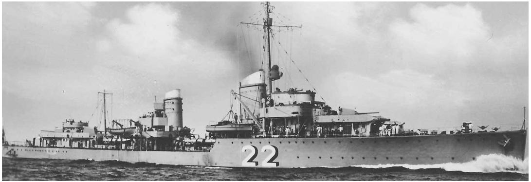Эскадренный миноносец «Theodor Riedel» (Z-6)