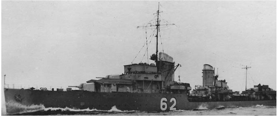 Эскадренный миноносец «Bernd von Arnim» (Z-11)