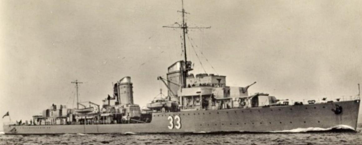 Эскадренный миноносец «Friedrich Eckoldt» (Z-16)