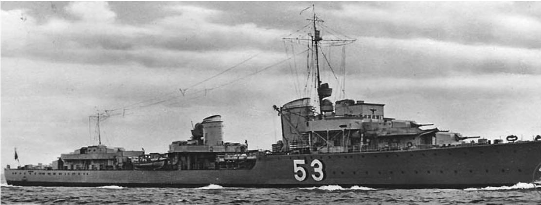 Эскадренный миноносец «Hans Lüdemann» (Z-18)