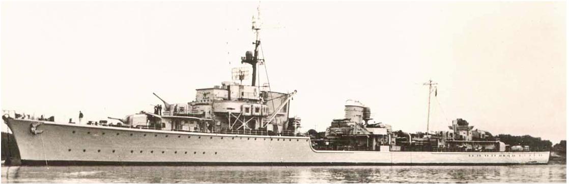 Эскадренный миноносец «Karl Galster» (Z-20)