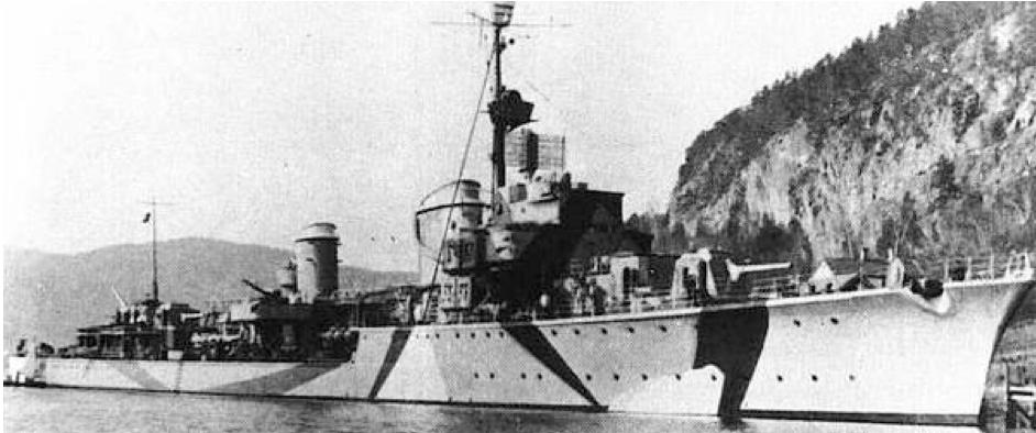 Эскадренный миноносец «Z-30»