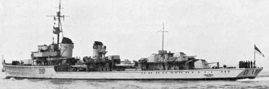 Эскадренный миноносец«Z-38»
