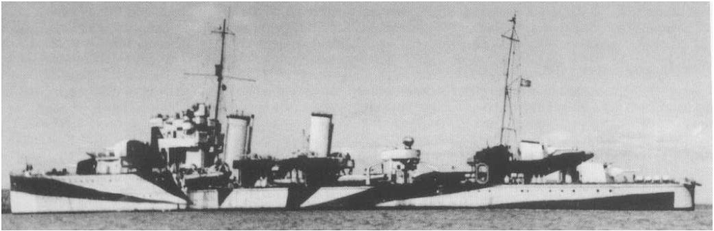 Эскадренный миноносец «Hermes» (ZG-3)