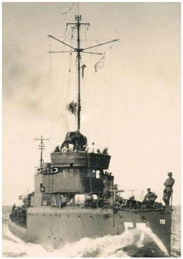 миноносец «Т-157»