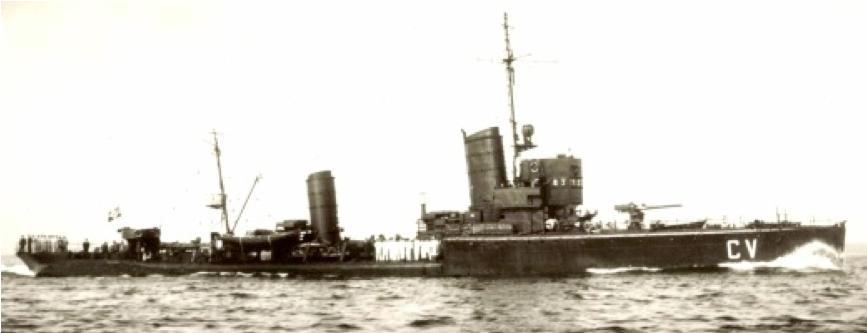 Миноносец «Т-190» (Claus von Bevern)