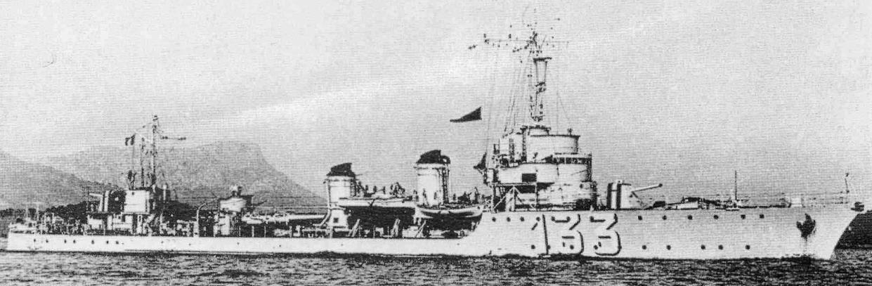Миноносец «ТА-9» (Bombarde)
