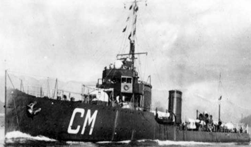 Миноносец «ТА-19» (Calatafimi)