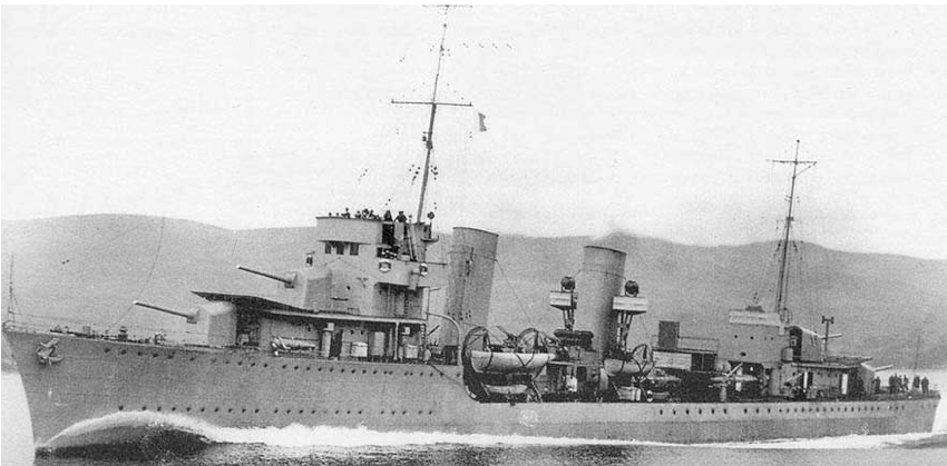 Миноносец «ТА-32» (Dubrovnik/ Premuda)
