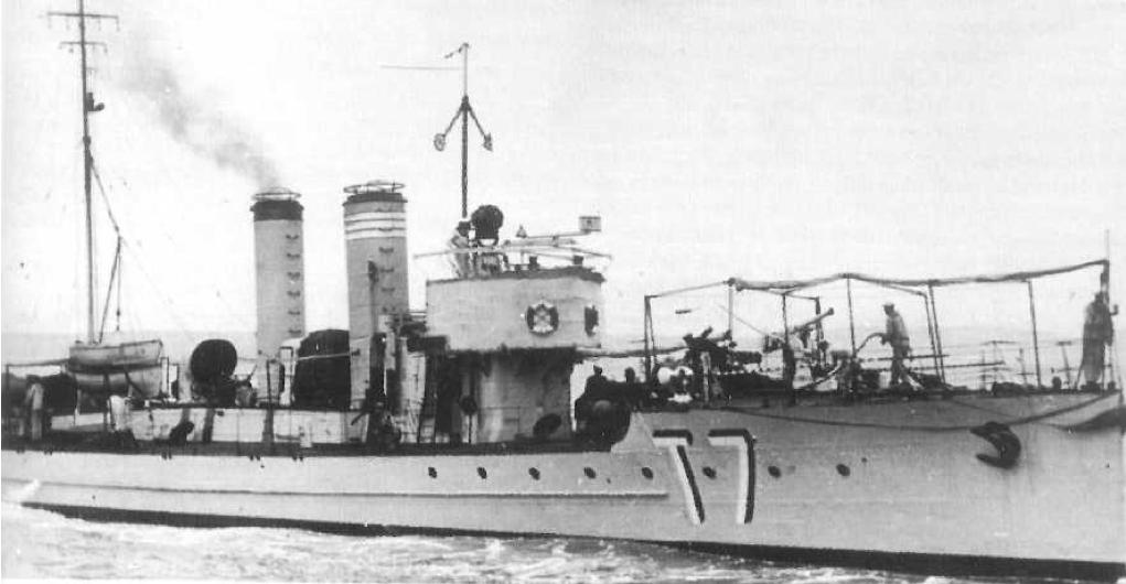 Миноносец ТА-34 (Tb-96F/Т-7)