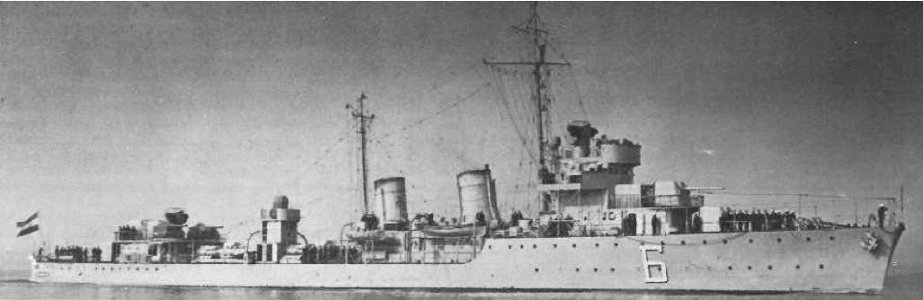 Миноносец «ТА-43» (Beograd/Sebenico)