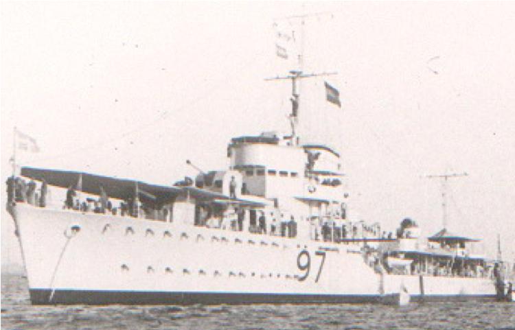 Эскадренный миноносец «Hydra» (D-97)