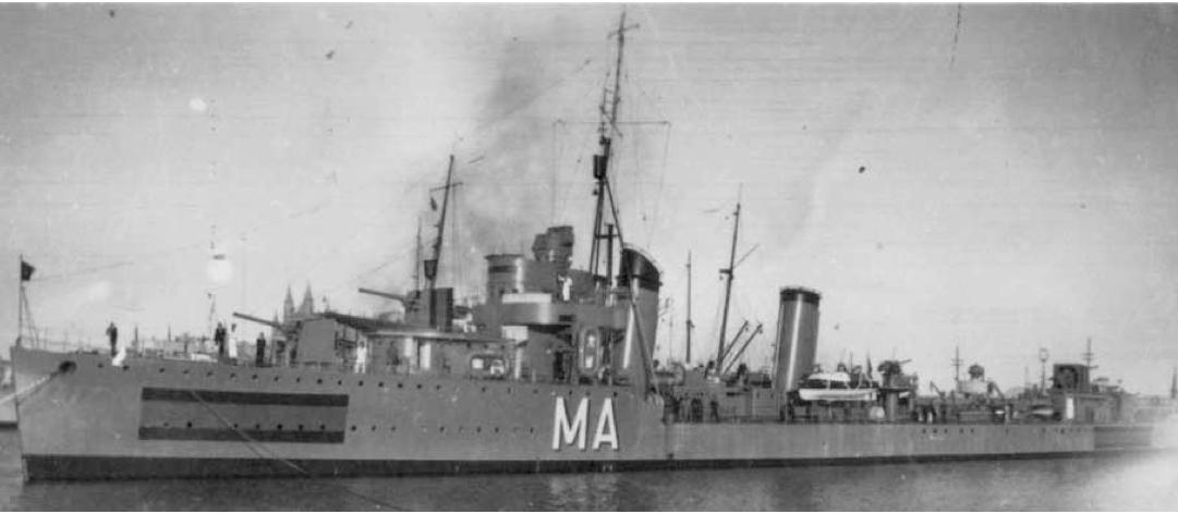 Эскадренный миноносец «Almirante Miranda»