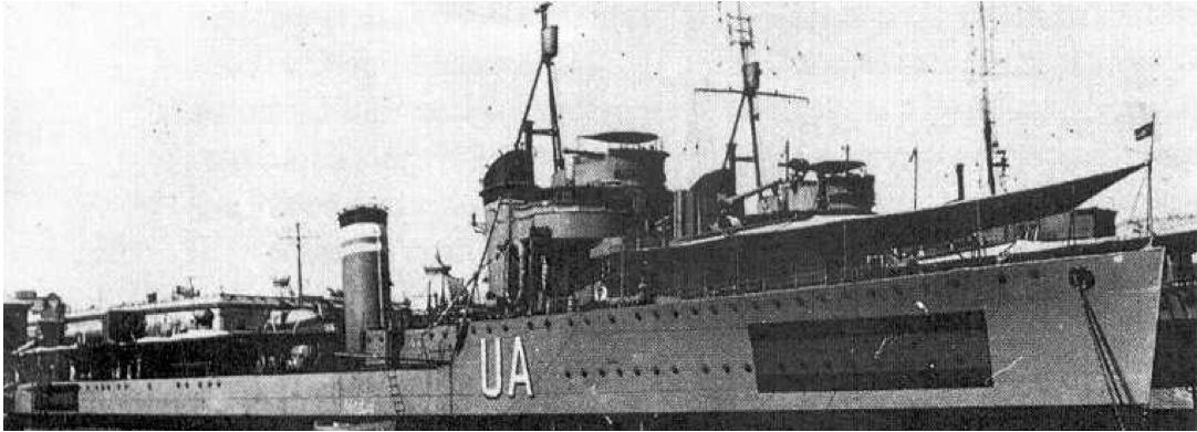 Эскадренный миноносец «Ulloa»