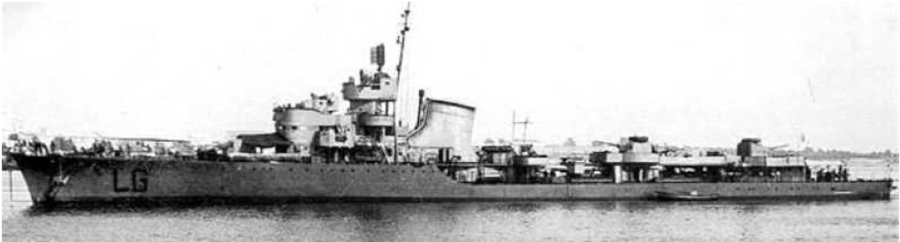 Эскадренный миноносец «Legionario»